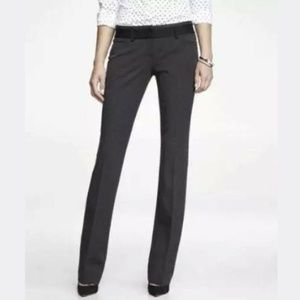 Express Editor Barely Boot Dress Pants 4 Business